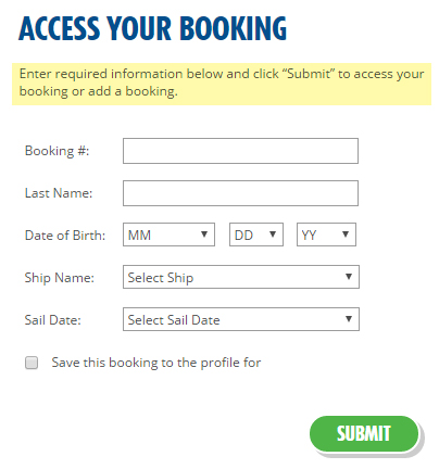Access Booking